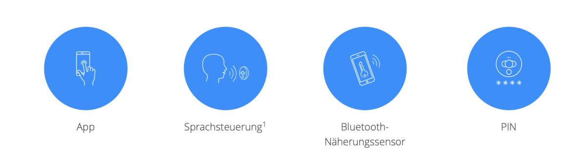 FIBARO Intercom-App oder nutzen Sie die Sprachsteuerung