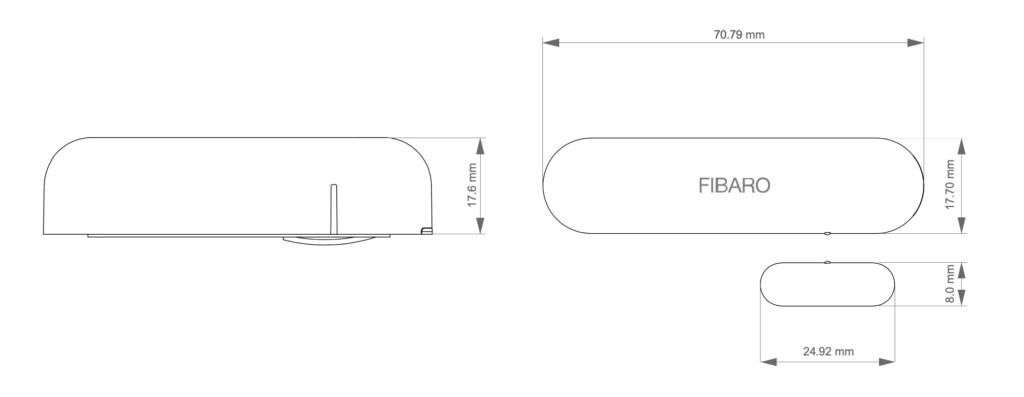 Smart Home München: Tür-/Fenstersensor ist optimal konzipiert und der kleinste Kontakt- sowie Temperatursensor auf dem Markt