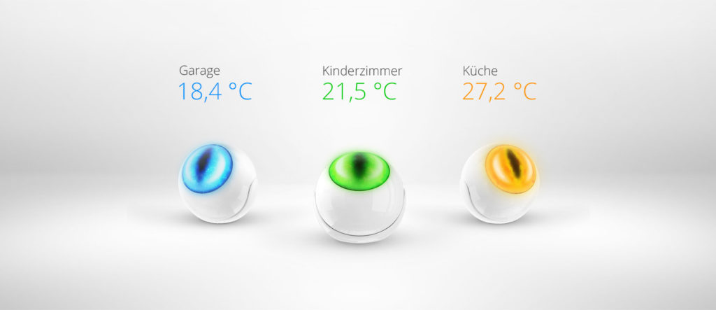 Smart Home München: Fibaro Motion Sensor Smart Mobile