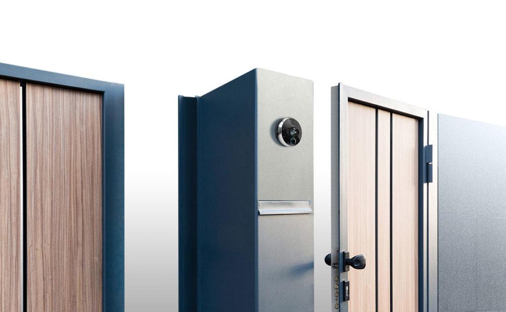 FIBARO Intercom kann an verschiedenen Arten von Toren oder Türen angebracht werden und zudem zwei Eingänge gleichzeitig kontrollieren. mobile