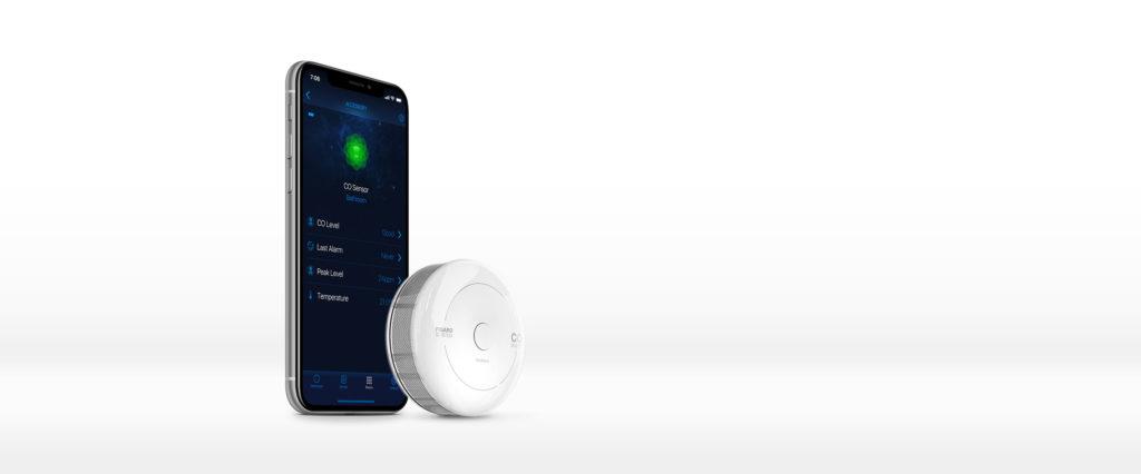 Smart Home München: Auch Apple HomeKit-geeignet CO Sensor