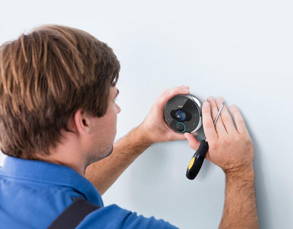 Professionelle Installation Intercom Smart Home MOBILE