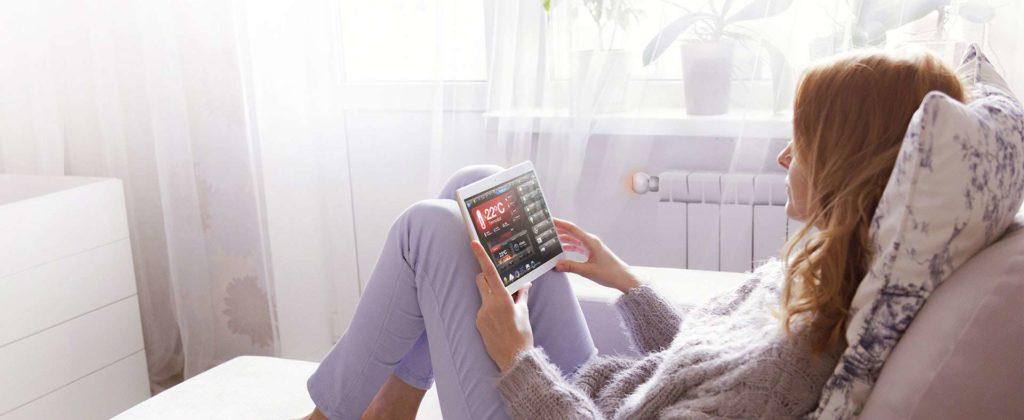 Smart Home München: FIBARO-Thermostatkopf funktioniert mit App