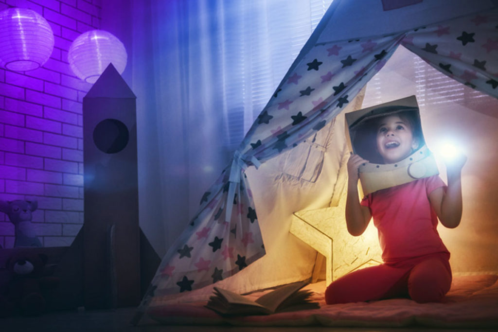 Smart Home München: Das Kinderzimmer wird zum Weltraum – ein Spaß ohne Ende