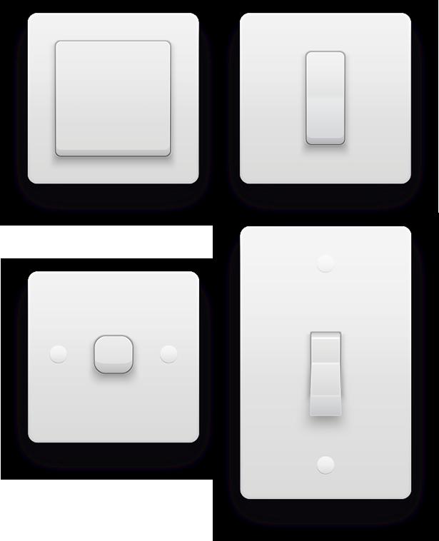 Smart Home München: Dimmer 2 kann als Lichtdimmer oder Schalter in 2- bzw. 3-Draht-Installationen eingesetzt werden mobile