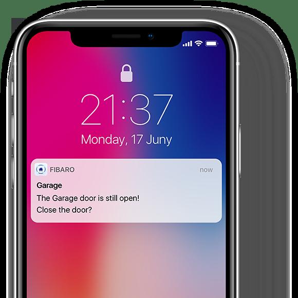 Smart Home München: phone door sensor fibaro