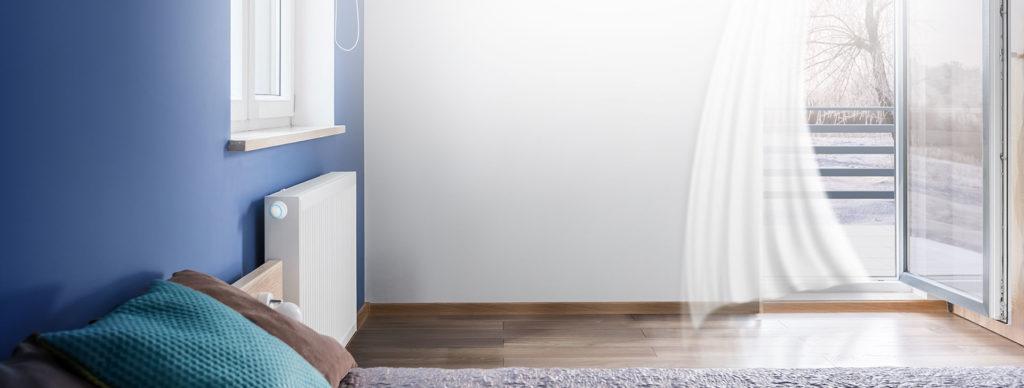 Smart Home München: Der FIBARO Heat Controller erkennt plötzliche Temperaturabfälle.