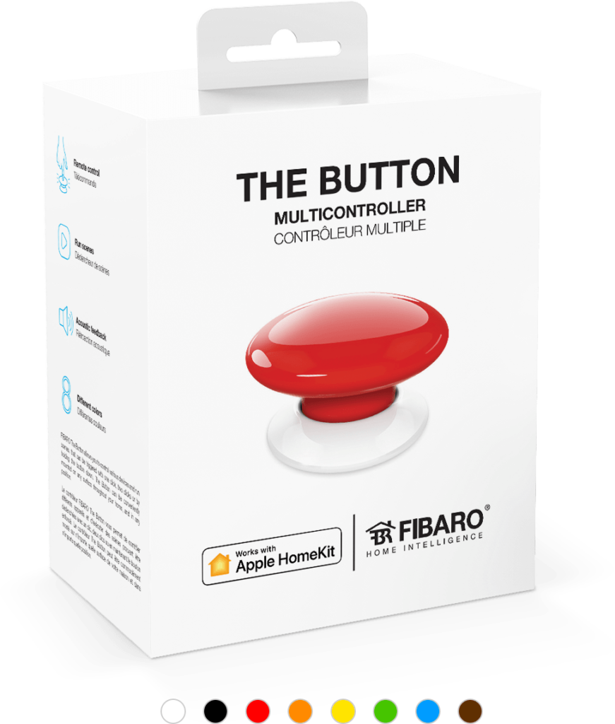 Smart Home München: Button FIBARO SYSTEM Apple Homekit
