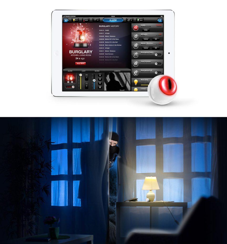 Smart Home München: Alarmpanel Smart Home mobile