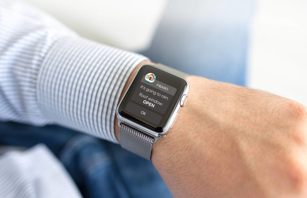 smartwatch Tür und Fenster Sensor - Smart Home München