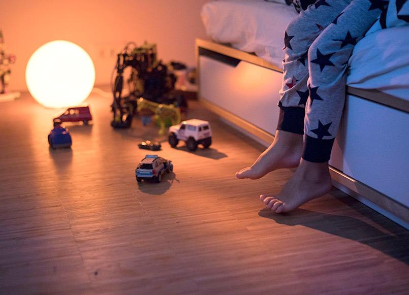 Smart Home München: Subtile Nachtbeleuchtung - Fibaro Smart Home